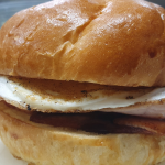 UFC Bacon & Egg Roll