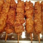 UFC Battered Chicken Kebabs