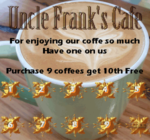 Uncle Franks Free Coffee