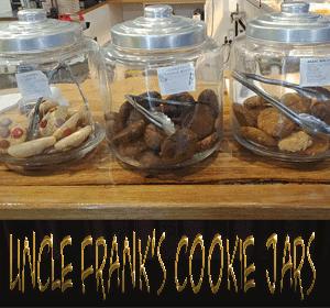 Uncle Franks Cookie Jars