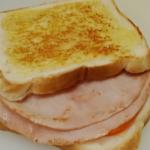 UFC Ham Cheese Tomato Toasted Sandwich