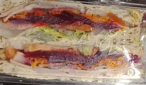 UFC Ham Tomato Cucumber Carrot Beetroot Lettuce Mayo